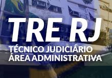 Curso TRE RJ - Técnico Judiciário Área Adminstrativa