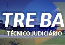 Curso TRE BA - Técnico Judiciário Área Adminstrativa