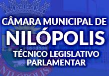 Curso Câmara Municipal de Nilópolis - Pacote Teórico - Técnico Legislativo Parlamentar