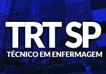 Curso TRT SP - Técnico Judiciário Área Administrativa - Especialidade Enfermagem