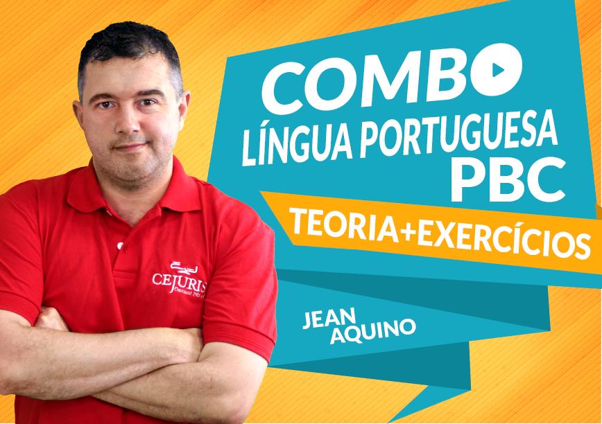 Combo Língua Portuguesa PBC com o Professor Jean Aquino
