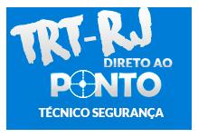 TRT/RJ - DIRETO AO PONTO - Técnico Segurança - (100h) Sáb/Dom 8:00 às 17:00
