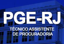 Curso PGE RJ  - Técnico Assistente de Procuradoria