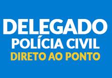 Delegado -Polícia Civil- Direto ao Ponto (108h)- Sábados- 8h às 17h