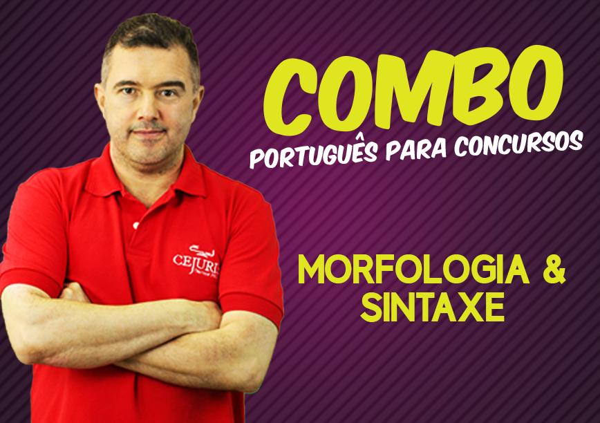 COMBO PORTUGUÊS PARA CONCURSOS - Professor Jean Aquino - Morfologia e Sintaxe (Gravação em Sala)