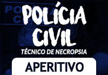 Cursinho Polícia Civil RJ  - Técnico de Necropsia  (Gravações em Sala de Aula) Aperitivo Gratuito
