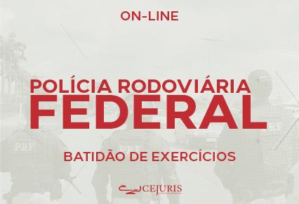 PRF Curso Online<br>Policial Rodoviário Federal<br>BATIDÃO DE EXERCÍCIOS (Gravações em Sala de Aula)