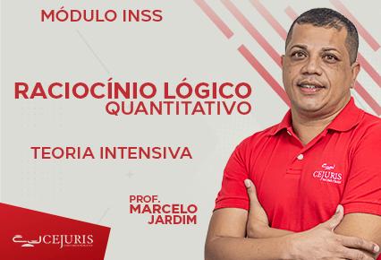 Módulo INSS - Raciocínio Lógico Quantitativo - Teoria Intensiva