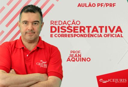 AULÃO PF/PRF - Redação Dissertativa e Correspondência Oficial (Gravações em Sala de Aula)