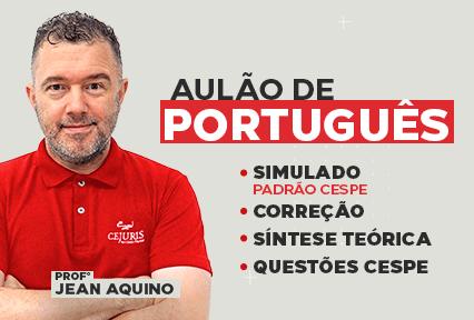 Aulão de Português - TJRJ e PCERJ -  15/08