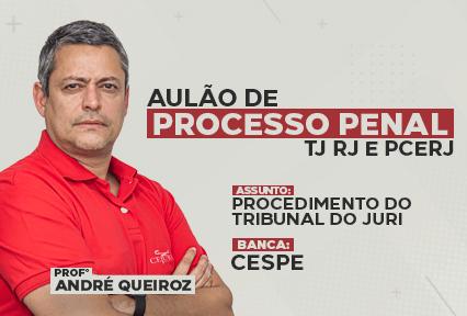 Aulão de Processo Penal -  TJRJ e PCERJ -  02/08