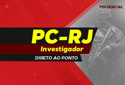 Investigador PC RJ - EXERCÍCIOS FGV - final de semana