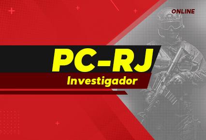 Curso Online Polícia Civil PC RJ  - Investigador - teoria intensiva