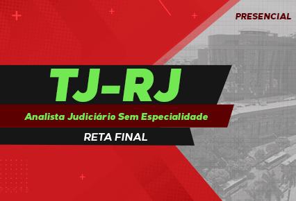 TJ RJ - Analista sem especialidade - Reta Final - dias de semana - noite