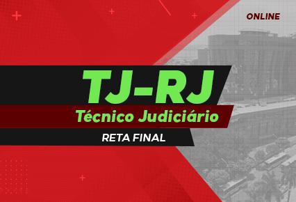 Curso Online TJ RJ - Técnico Judiciário - Teoria e exercícios - PÓS EDITAL