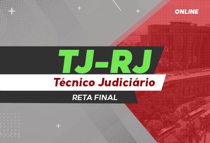 Turma Online TJ RJ - Técnico Judiciário - Direto ao ponto - PÓS EDITAL