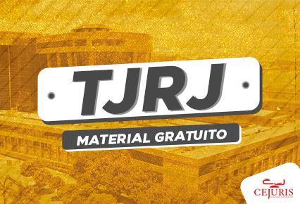 Material gratuito para TJRJ