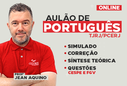 Aulão - Português  - Resolução de Questões - CESPE/FGV - Online - 2021