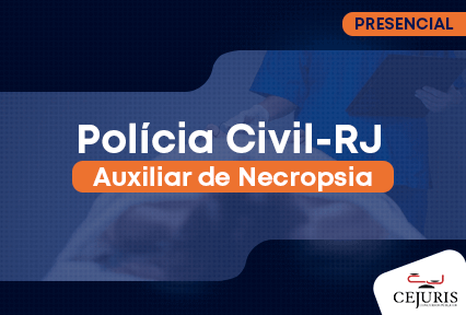 Auxiliar de Necropsia- Polícia Civil/RJ - Manhã-   27/10