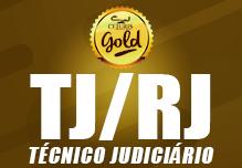 TJ/RJ Gold- Técnico Judiciário (188h)-Sábado/Domingo(Podendo ter sábados ou domingos livres)- 8h às 17h
