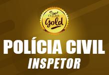 Inspetor da Polícia Civil/RJ- Gold (152h)- Noite- 18:30 às 21:45- 2ª à 6ª  (podendo ter dias livres na semana)- Cód:02310