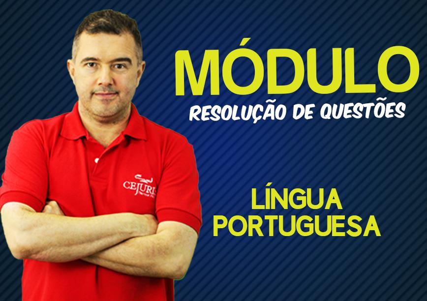 Módulo de PORTUGUÊS - RESOLUÇÕES DE QUESTÕES  - Professor Jean Aquino (Gravação em Sala)