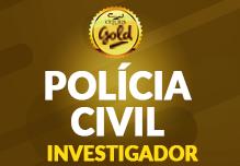 P.C. Investigador- Gold - 136h  (Noite)- 18:30 às 21:45-    2ª à 6ª(podendo ter dias livres na semana) -Cód: 02312 -