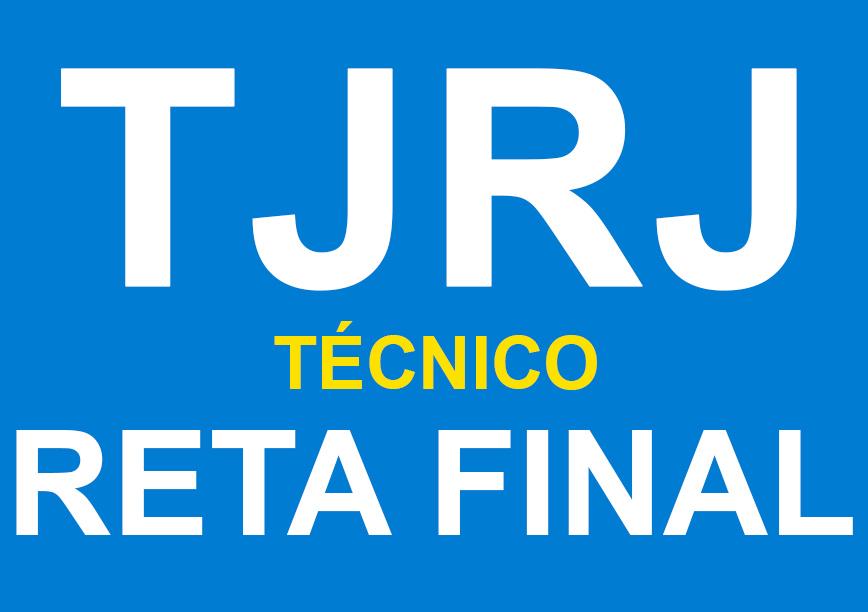 Técnico Judiciário- TJ/RJ- Reta Questões (148 Final-Principais Pontos Teóricos eh)- Sab/dom- 8h às 17h-(podendo ter sábados e/ou domingos livres)- Cód: 02301